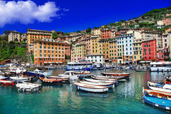 Colors of sunny italy Stock Photos