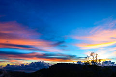 Colors at sunset Royalty Free Stock Images