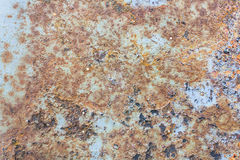Colors and Surface Texture of Rusty Metal Stock Photo