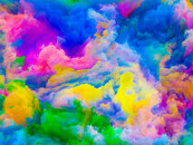 Colors Synergy Royalty Free Stock Images
