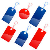 Colors tags royalty free illustration