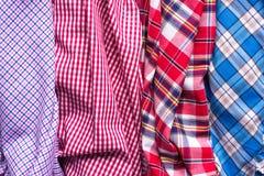 Colors of tartan seamless plaid pattern. Stock Photography
