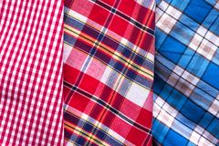 Colors of tartan seamless plaid pattern. Royalty Free Stock Photography