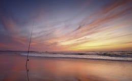 colors trevlig solnedgång Royaltyfri Bild