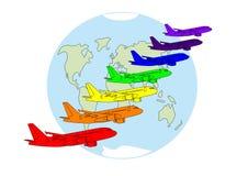colors världen Royaltyfri Bild
