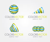 Colors vector Royalty Free Stock Photos