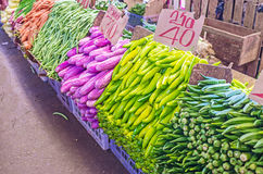 The colors of vegetables Royalty Free Stock Image