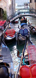 Colors of venice - gondolas. Venice - italy - europe - gondolas on grand canal Stock Photo