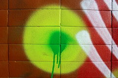 Colors on a wall Royalty Free Stock Photos