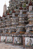 Colors of Wat Arun 1 in Bankok Stock Image