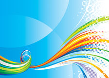 Colors Wave Stock Photo