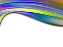 Colors wave Royalty Free Stock Image