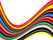 Colors waves Royalty Free Stock Image