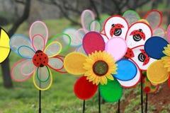 colors windmillen Fotografering för Bildbyråer