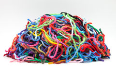 Colors wool Royalty Free Stock Photography