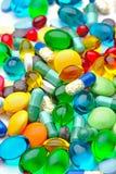 Coloruf pills Stock Photography