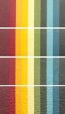 Colorul Fahnen Stockbilder