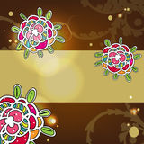 Colorul floral background Stock Photography