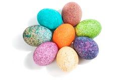 Colorulf Easter jajka Zdjęcie Royalty Free
