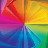 Colorwheel abstract concentrisch behang Royalty-vrije Stock Fotografie