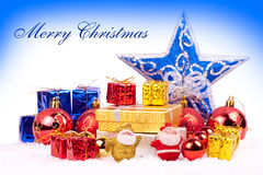 Colory xmas background Stock Images