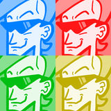Colos faces Royalty Free Stock Images