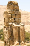 Colos of Memnon, Egypt. Egypt, Upper Egypt, Nile Valley, Gaugue bank of Thebes, about Luxor, Colossi of Memnon classified World Heritage stock photos