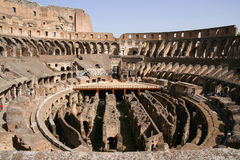 Coloseo inside. Rome, Italy, summer Stock Images