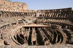 Coloseo nach innen Stockbilder