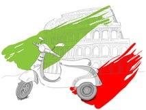 Colosesum royaltyfri illustrationer