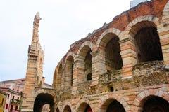 Coloseum в Вероне, Италии стоковые изображения