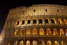 Coloseum на ноче Стоковые Изображения RF
