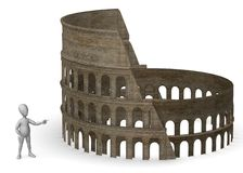 Coloseum Royalty Free Stock Photo
