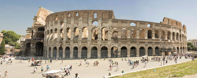 The Coloseum. The Colosseum in Rome Italy Royalty Free Stock Image