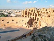 Coloseum do jem do EL foto de stock