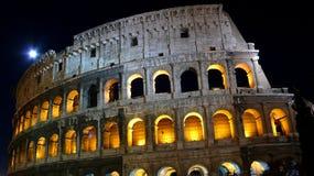 Coloseum la nuit Images libres de droits