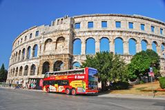 Coloseum in Pula Stock Photos