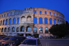 Coloseum in Pula Royalty Free Stock Photos