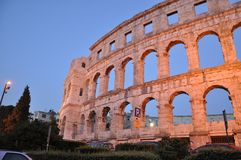Coloseum in Pula Stock Images