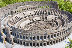 Coloseum Roma Italia Mini Tiny Fotos de archivo