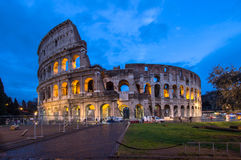 The Coloseum of Rome, Italy Royalty Free Stock Photo