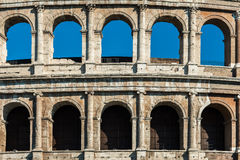 Coloseum in Rome, Italy. View of Coloseum in Rome, Italy Royalty Free Stock Photo