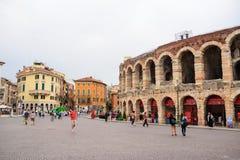Coloseum in Verona, Italy Stock Photos