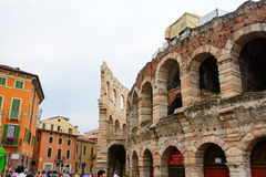 Coloseum in Verona, Italy Royalty Free Stock Photo
