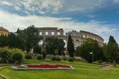 Coloseum w Pula Fotografia Royalty Free