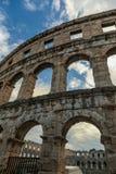 Coloseum w Pula Fotografia Stock
