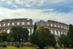 Coloseum w Pula Obraz Royalty Free