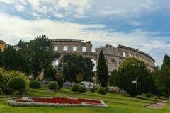 Coloseum w Pula Zdjęcie Stock