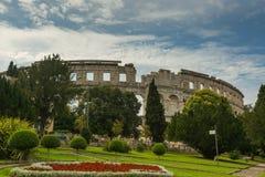 Coloseum w Pula Zdjęcie Royalty Free