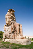 Coloso de Memnon, Egipto Fotos de archivo